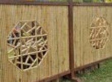 Kwikfynd Bamboo fencing ascotpark