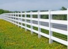 Kwikfynd Pvc fencing ascotpark