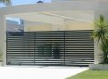 Kwikfynd Corrugated fencing ascotpark